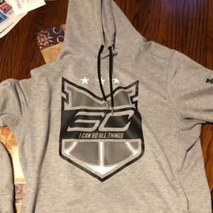 Under Armour Stephen Curry hoodie
